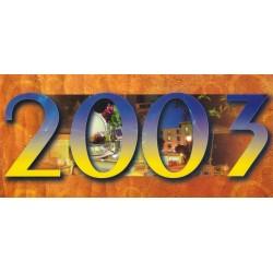 Carte 2003