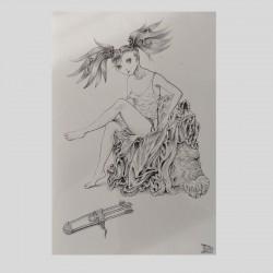 Carte postale ART & manga